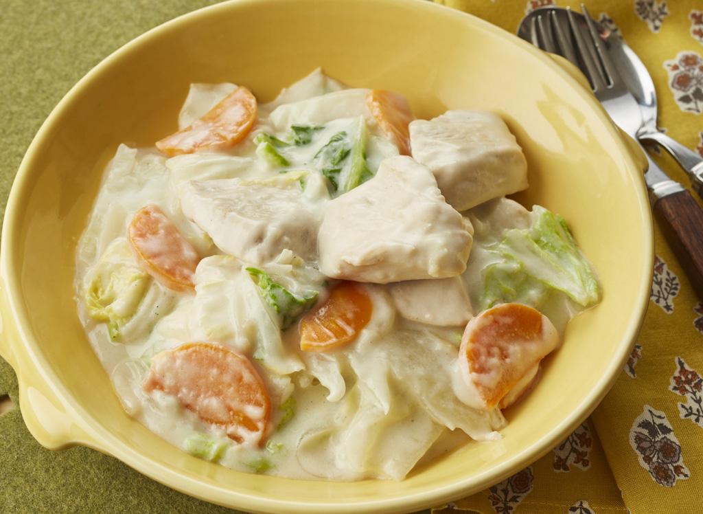 白菜と鶏肉のクリーム煮 サンシャイン