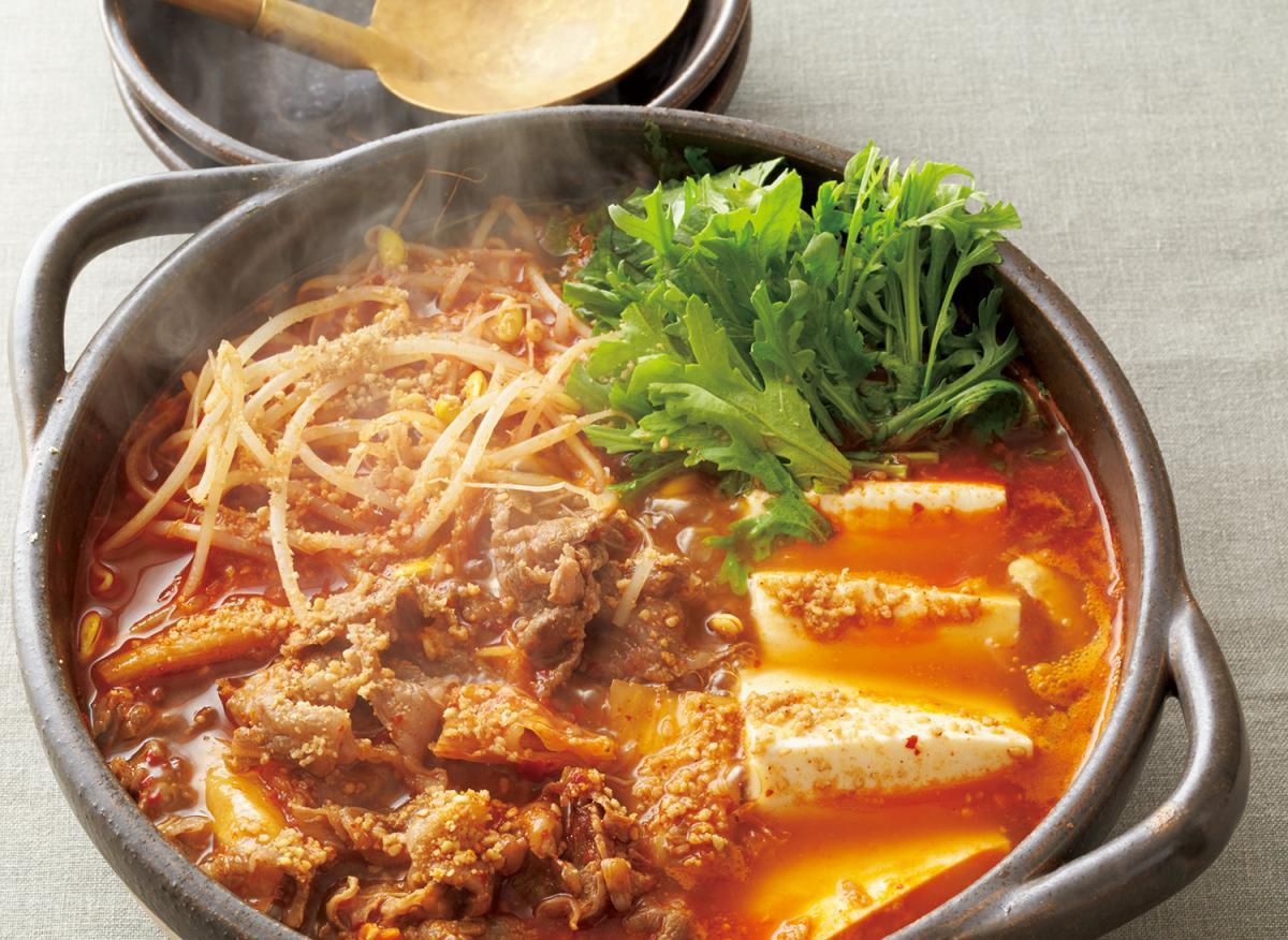 牛肉のキムチ鍋